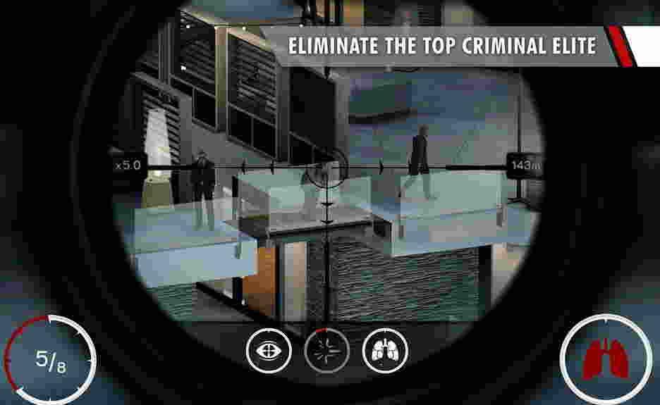 Hitman Sniper hra