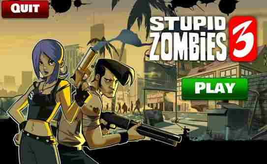 Stupid Zombies 3 - android hry, games