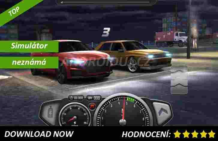 1 - Top Speed: Drag Race Simulator - android hra ke stažení