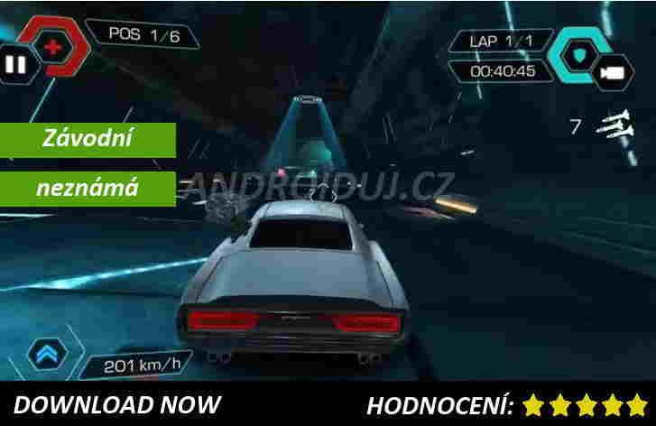 Stahuj závodní android hru Cyberline Racing