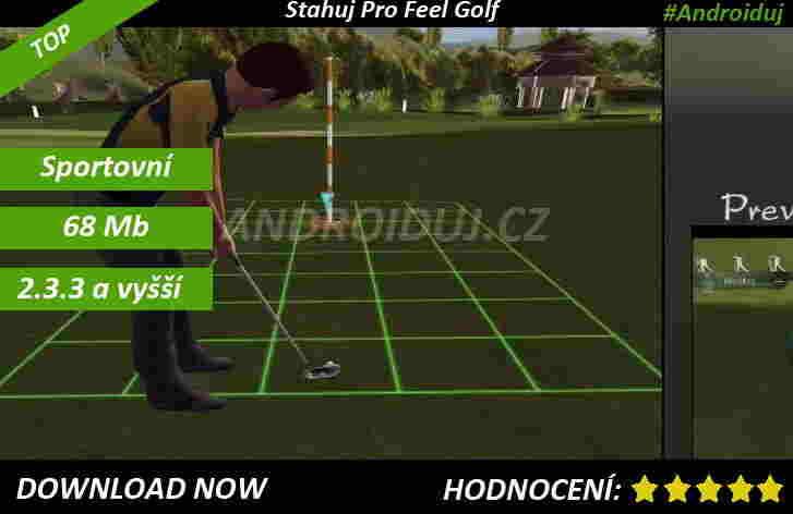 1 - Pro Feel Golf - android ke stažení hra