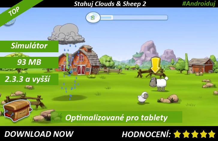 1 - Clouds & Sheep 2 ke stažení na mobil