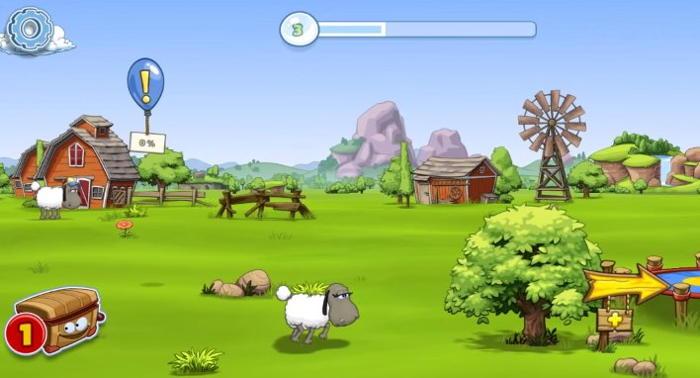 3 - Clouds & Sheep 2 ke stažení na mobil