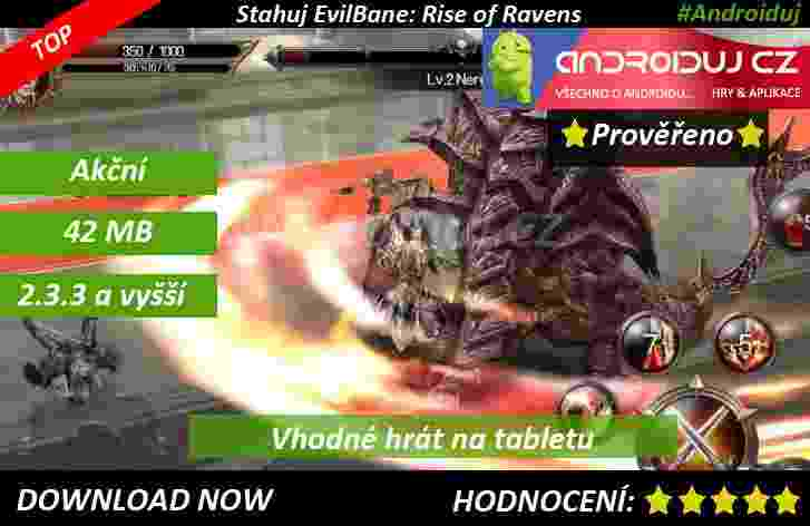 1-Evilbane Rise Of Ravens - android hra