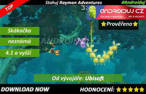 1 - Rayman adventures download