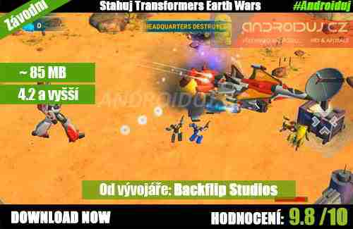 Hra   Transformers: Earth Wars [9.8/10]