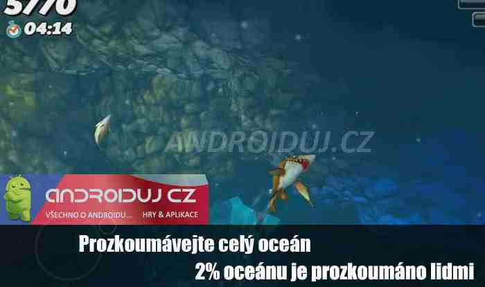 2- Hungry shark world ke stažení hra