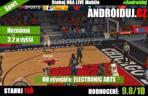 1 - NBA Live Mobile ke stažení EA