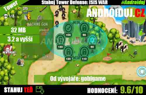 1 - Tower Defense game ISIS WAR ke stažení android