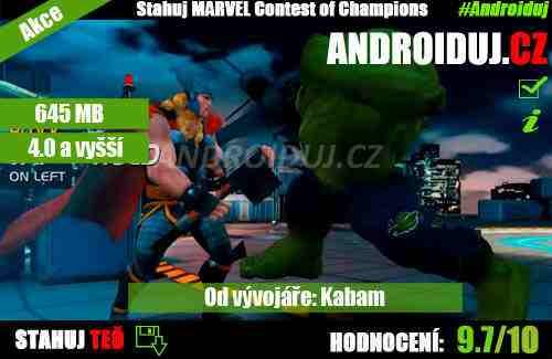 1 - Marvel Contest of Champions android ke stažení