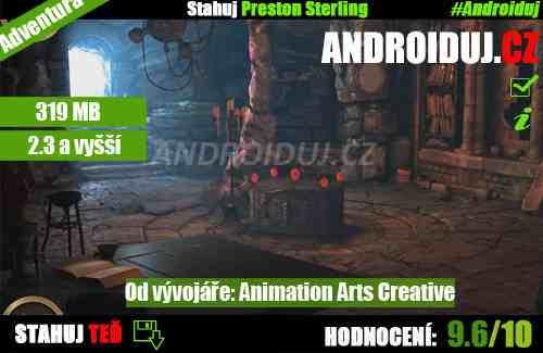 Preston Sterling android hra ke stažení