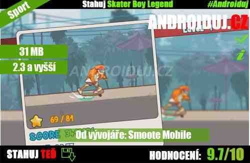 Skater Boy Legend ke stažení android