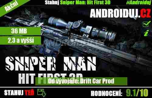 Sniper Man: Hit First 3D ke stažení zdarma