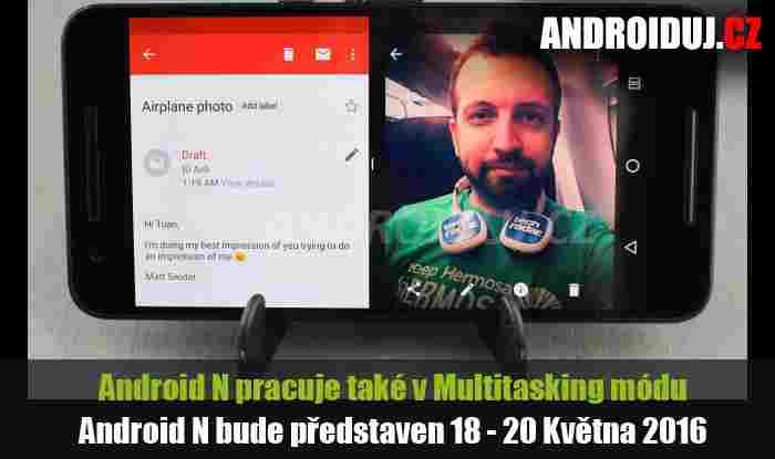 Jedná se o pouhý Android N Launcher ke stažení