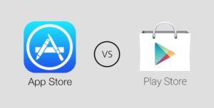 App Store vs Play Store