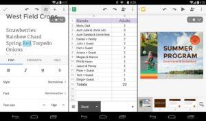 Google Docs, Sheets a Slides