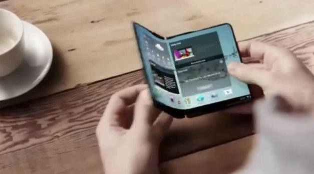 Skládací telefon Samsung