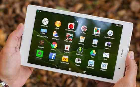 Sony Xperia Z3 Tablet Compact se také dočkal aktualizace Android 6.0.1