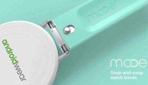 Vyměňte pásek u Android Wear na lusknutí