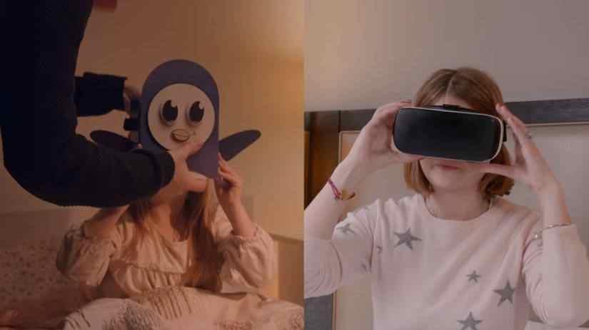 Aplikace Bedtime VR