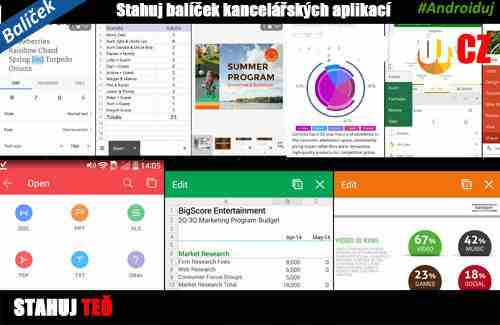 Nejlepší kancelářské aplikace pro Android   novinky androidaplikace