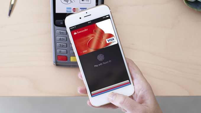 Skener otisků prstů NFC platby