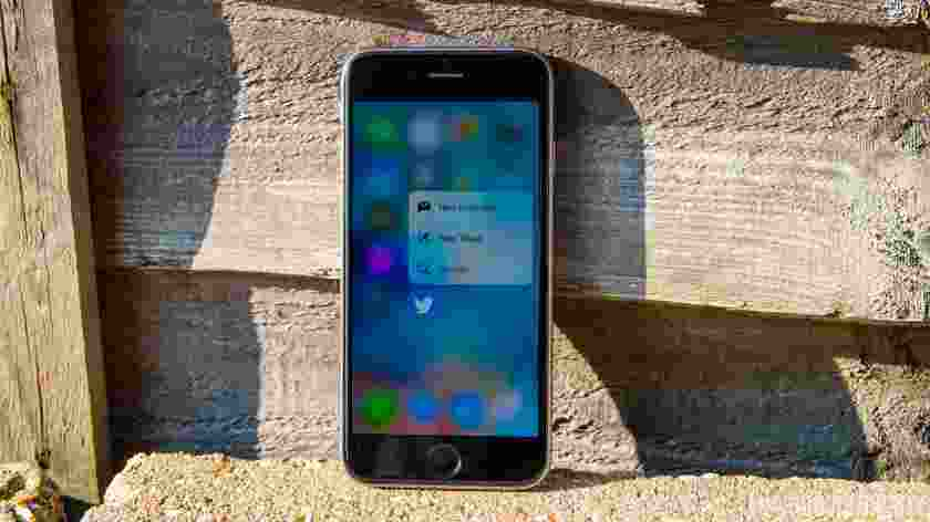 iPhone 6S 3D dotyk v akci
