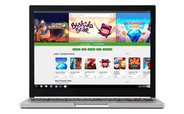 Chromebooks a Google Play