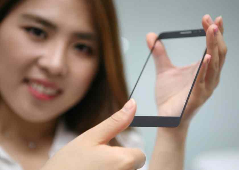 LG vloží snímač otisků prstů přímo do displeje. Pod dotykové sklo.