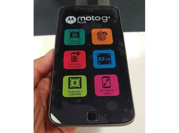 Ochranná fólie na displeji Moto G4 Plus