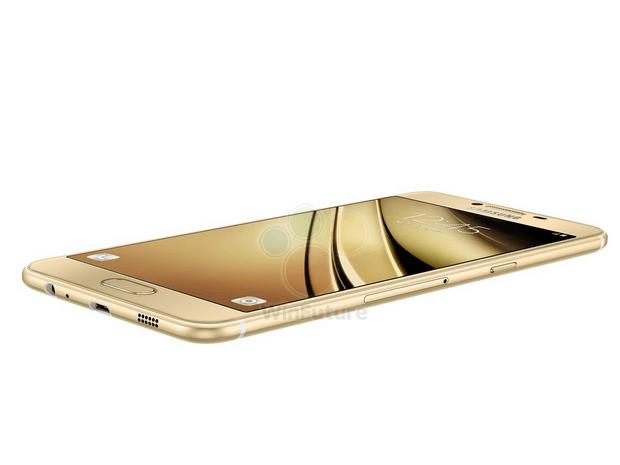Samsung Galaxy C5 z boku