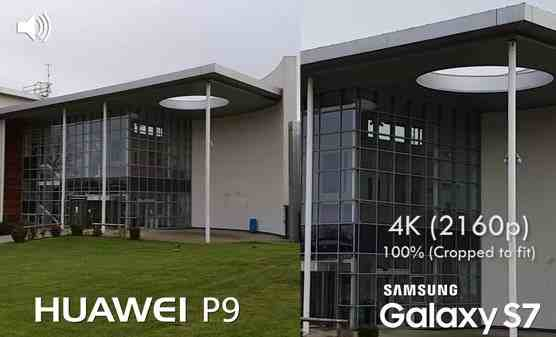 Huawei P9 vs Galaxy S7