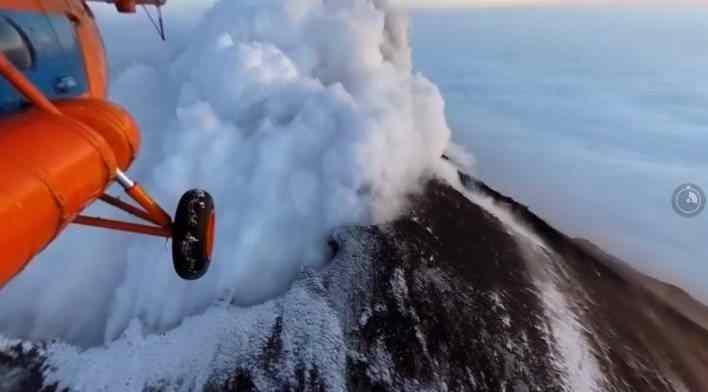 360 stupňové video Kamchatka