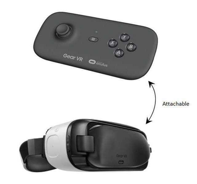 Samsung Gear VR bezdrátový ovladač