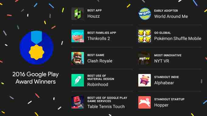 Play Store Awards