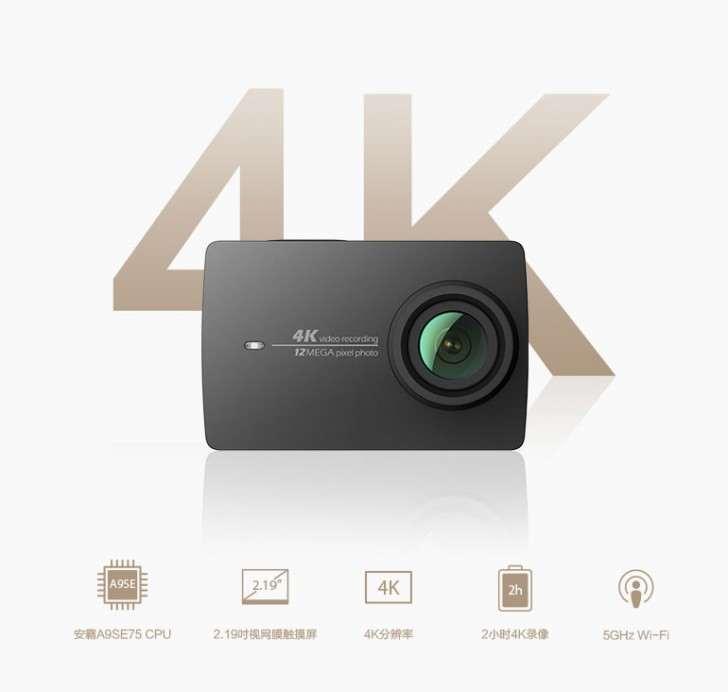 4K video nahrávání