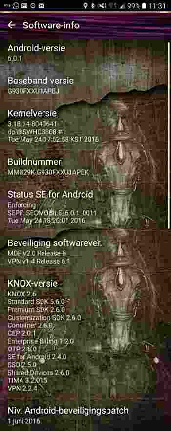 Bezpečnostní aktualizace pro Android