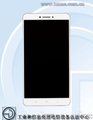 Xiaomi Mi Max přední strana