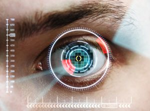 Iris skener zabezpečení Galaxy Note 7