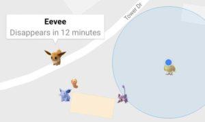 Pokémon Go, Pokémon Detektor