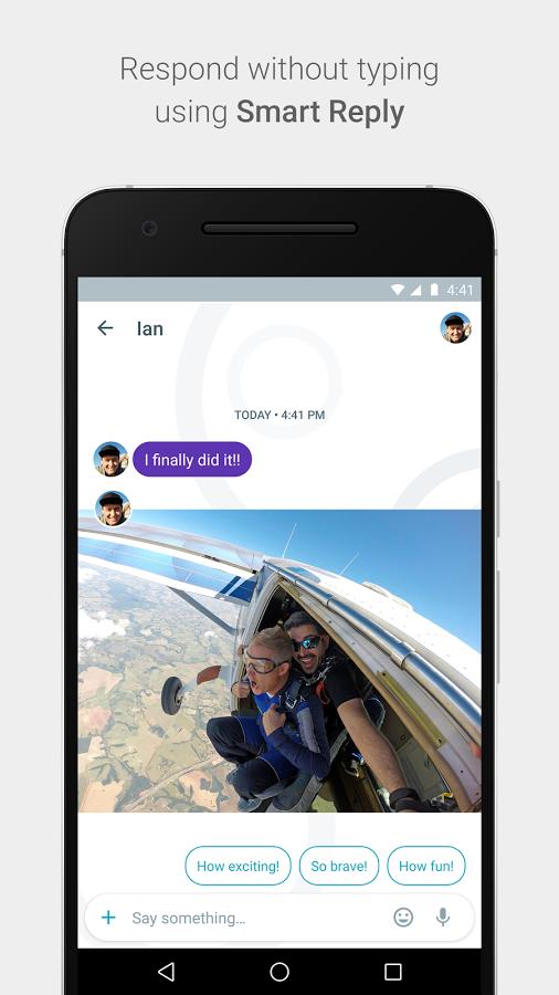 Google Allo - textová aplikace se svou inteligencí