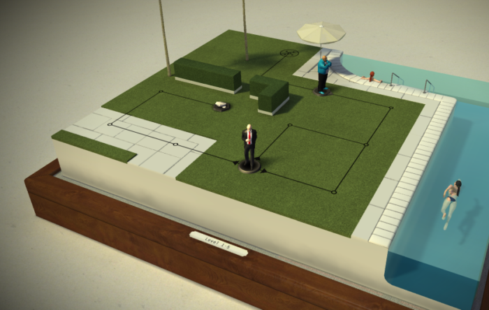Hitman Go, android hra