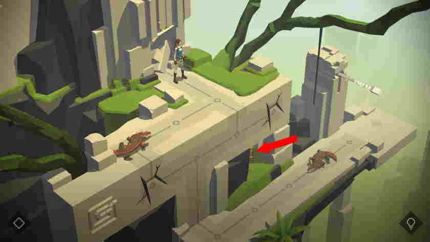 Lara Croft Go, Mobilní hra se slevou