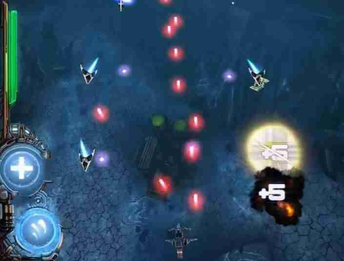 Galactic RAGE, hra na mobil