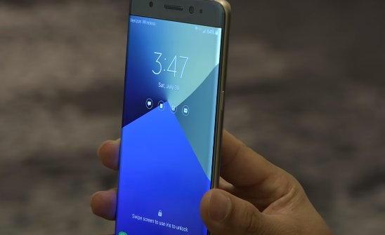 Galaxy Note7: UX