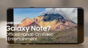 Galaxy Note 7 je nejlepší telefon pro zábavu. Proč?