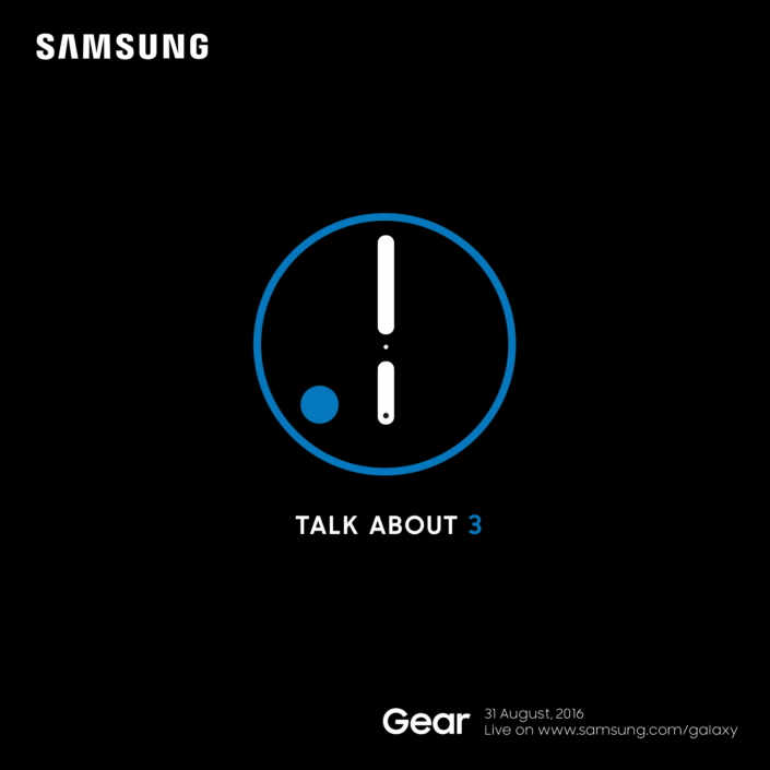 Představení chytrých hodinek Samsung Gear S3 31. srpna