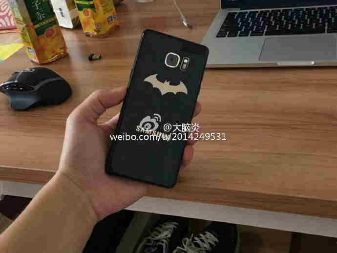Samsung Galaxy Note 7 batman edice