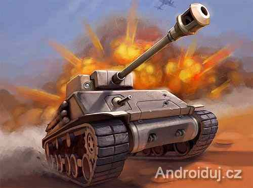 Android hra - Dash Of Tanks