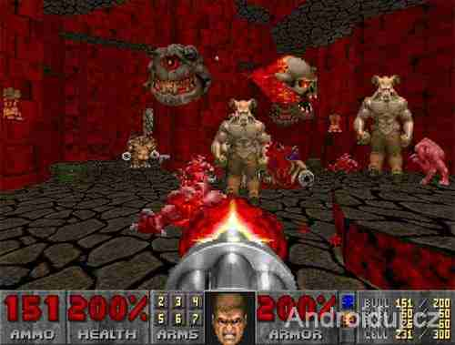 Doom II - DOS retro hra, PC hra